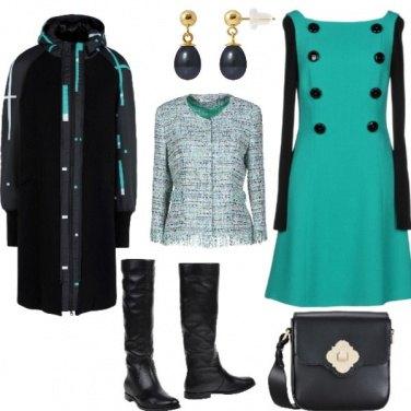 Outfit Rigore luminoso