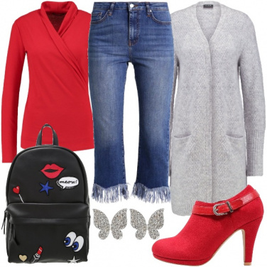 Outfit Shopping con l\'amica