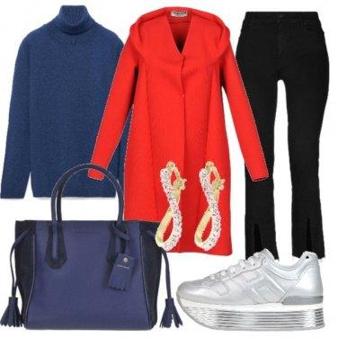 Outfit Soprabito rosso
