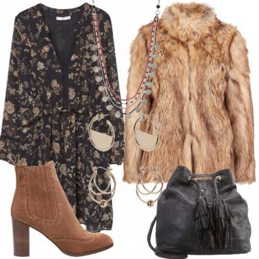Outfit Inverno boho