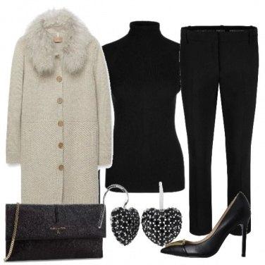 Outfit Chic con il cappotto di lana