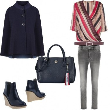Outfit Trendy, fantasia assimetrica