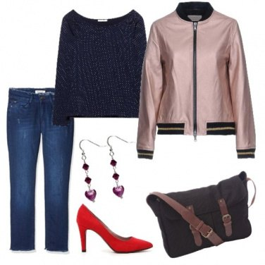 Outfit Colore anche in autunno