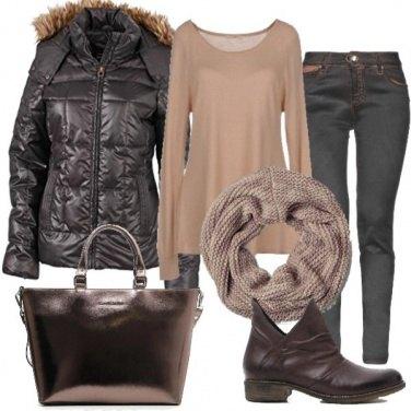 Outfit Marrone....non un colore terra terra