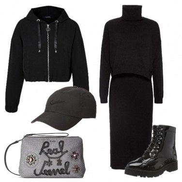 Outfit Nero in città