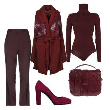 Outfit Colore che scalda