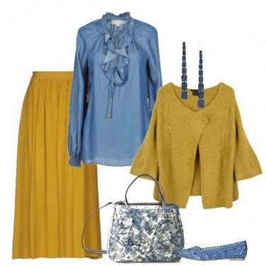 Outfit Solare yellow