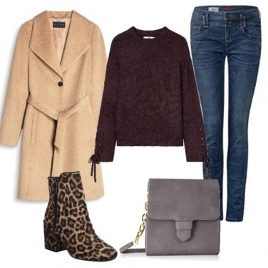 Outfit Cappotto beige