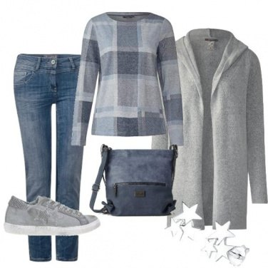 Outfit Blue Star