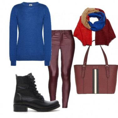 Outfit University glam