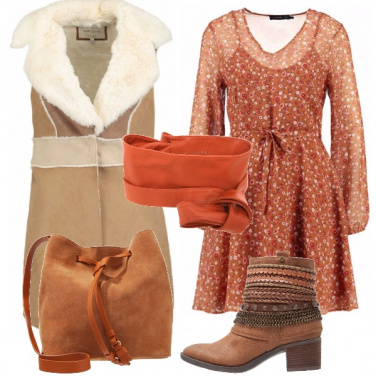 Outfit Cintura in stile country
