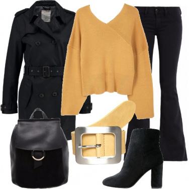 Outfit Cintura gialla