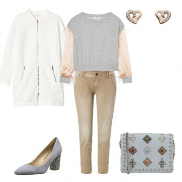 Outfit Sportiva con charme