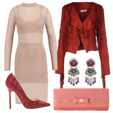 Outfit Bellissimo color nude