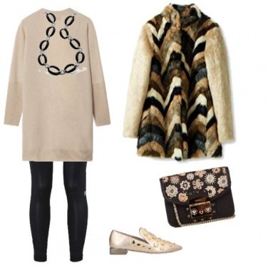 Outfit Maglione basic