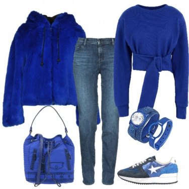 Outfit Blu oltremare 2