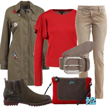 Outfit Metropolitano grintoso