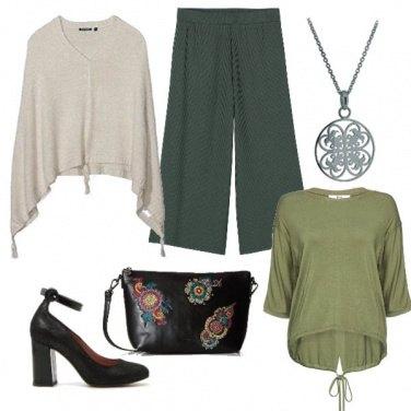 Outfit Tonalità del verde