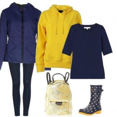Outfit Sotto la pioggia con il sole dentro