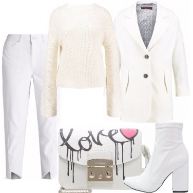 Outfit Tutto bianco