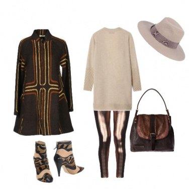 Outfit Cioccolata fumante