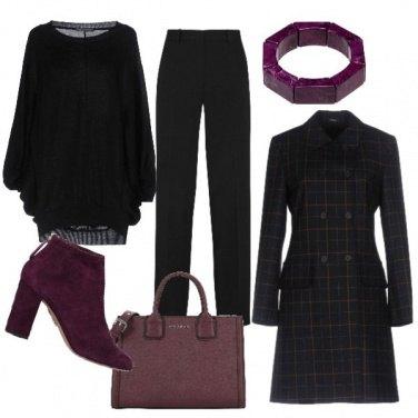 Outfit Gli stivaletti bordeaux