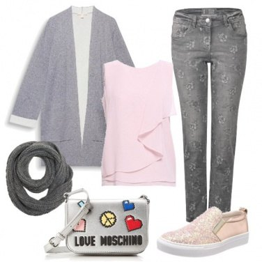 Outfit Pronta per lo shopping