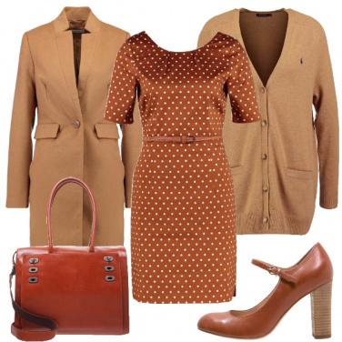 Outfit I pois che rompono la monotonia