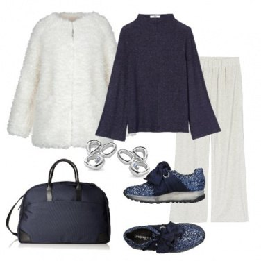 Outfit Shopping in blu