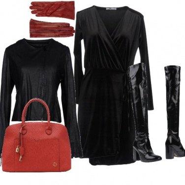Outfit La signora in guanti