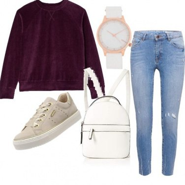 Outfit Total basic spendendo poco