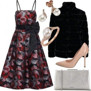 Outfit Fiori per una serata speciale
