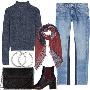Outfit Denim Bicolore