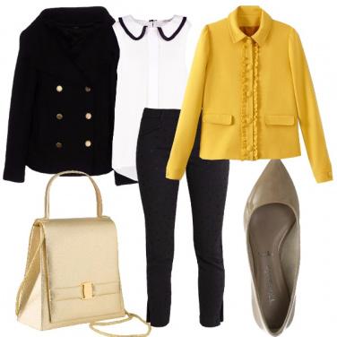 Outfit Bon ton in pantaloni