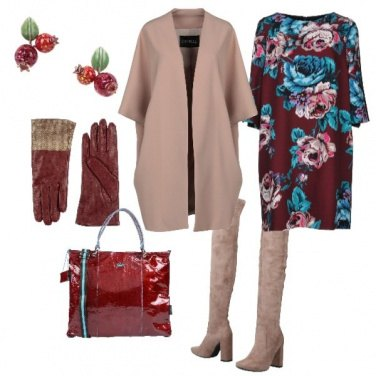 Outfit Bacche rosse