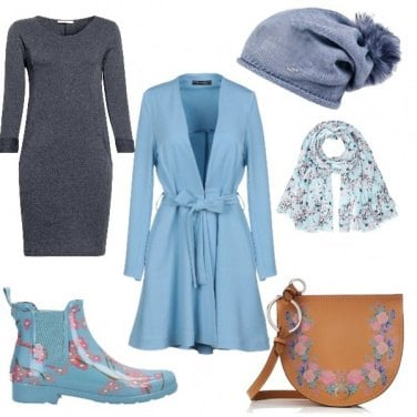 Outfit Belle sotto la pioggia!