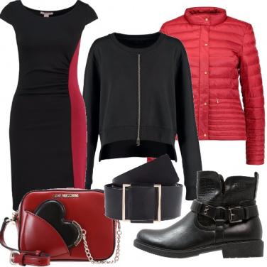 Outfit Il vestitino in chiave urban