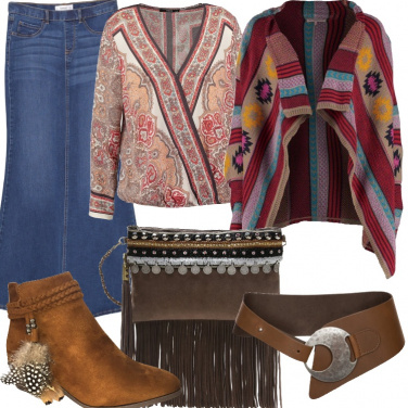 Outfit Gipsy in jeans