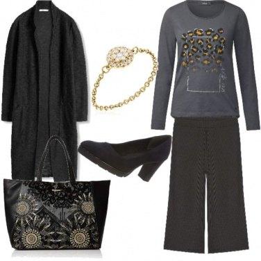 Outfit A macchia di leopardo