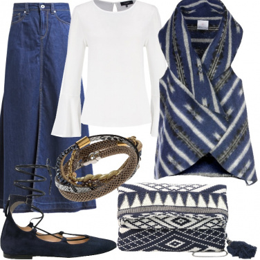 Outfit Una festa etnica