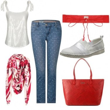 Outfit Serata in rosso...