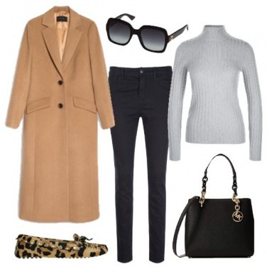 Outfit La scarpa flat leopardata