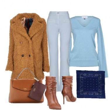 Outfit Cappotto di tendenza Teddy bear
