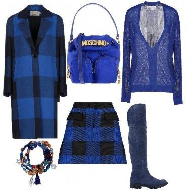 Outfit Blu digitale