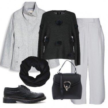 Outfit Ghiaccio e nero