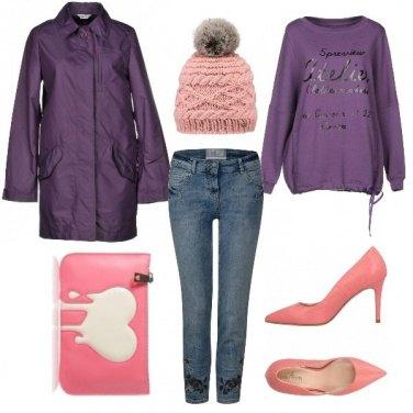 Outfit Viola lavanda