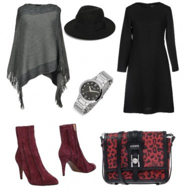 Outfit Chic, pranzo veloce in centro