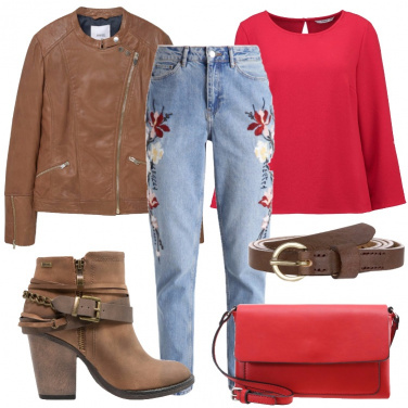 Outfit Ricami e stile country