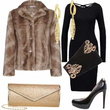 Outfit Notte in nero