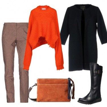 Outfit Trendy con micro quadretti